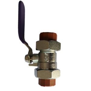 PP-H PIPE-FITTINGS-PP double ball valve