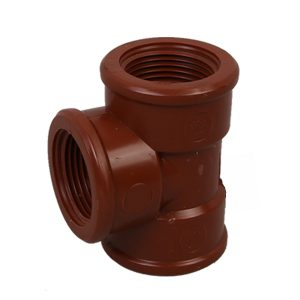 Tanzania Mozambique threded fittings, PP-H PIPE-FITTINGS-PP threaded tee fittings