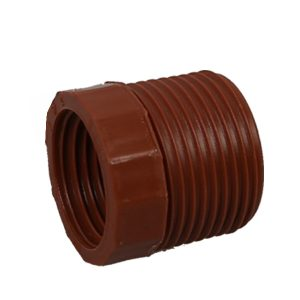 Tanzania Mozambique threded fittings, PP-H PIPE-FITTINGS-PP threaded reducing bush